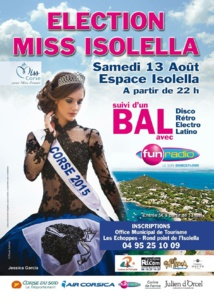 13 Août: Election de Miss Isolella