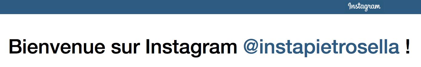 Votre commune vient de s'inscrire sur Instagram ! Rejoignez-là !