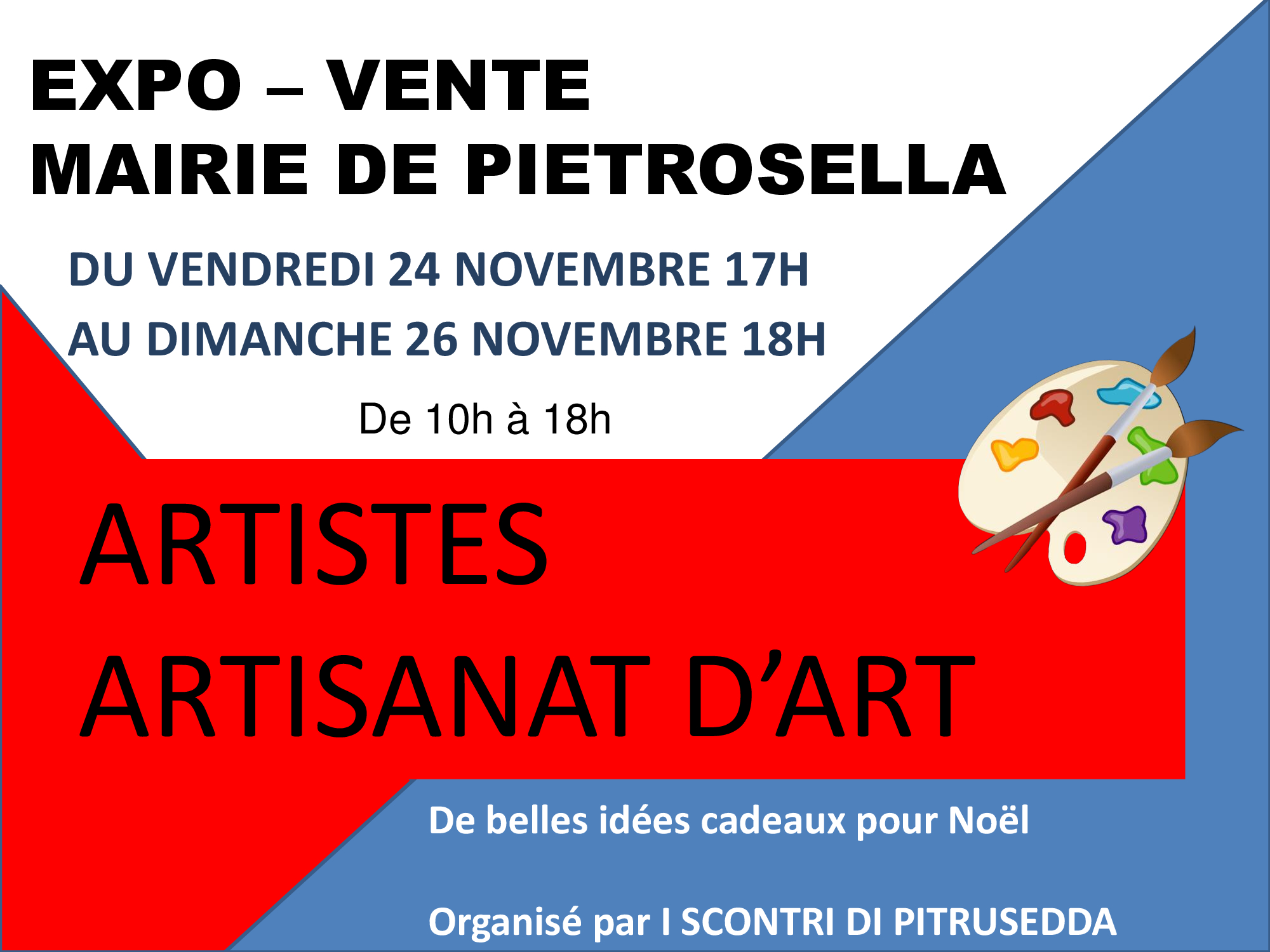 Expo-vente à la Mairie de Pietrosella