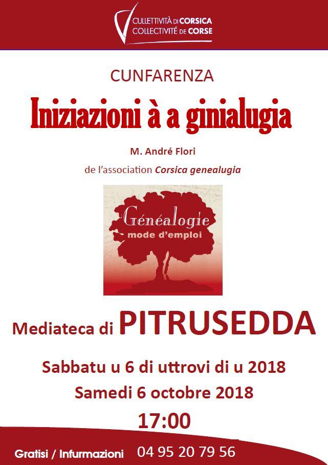 """Initiation à la généalogie avec """"Corsica Genealugia"""""""