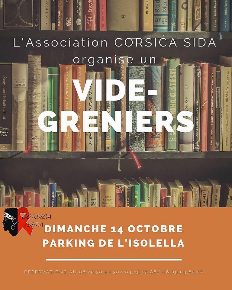 Le vide grenier de Corsica Sida