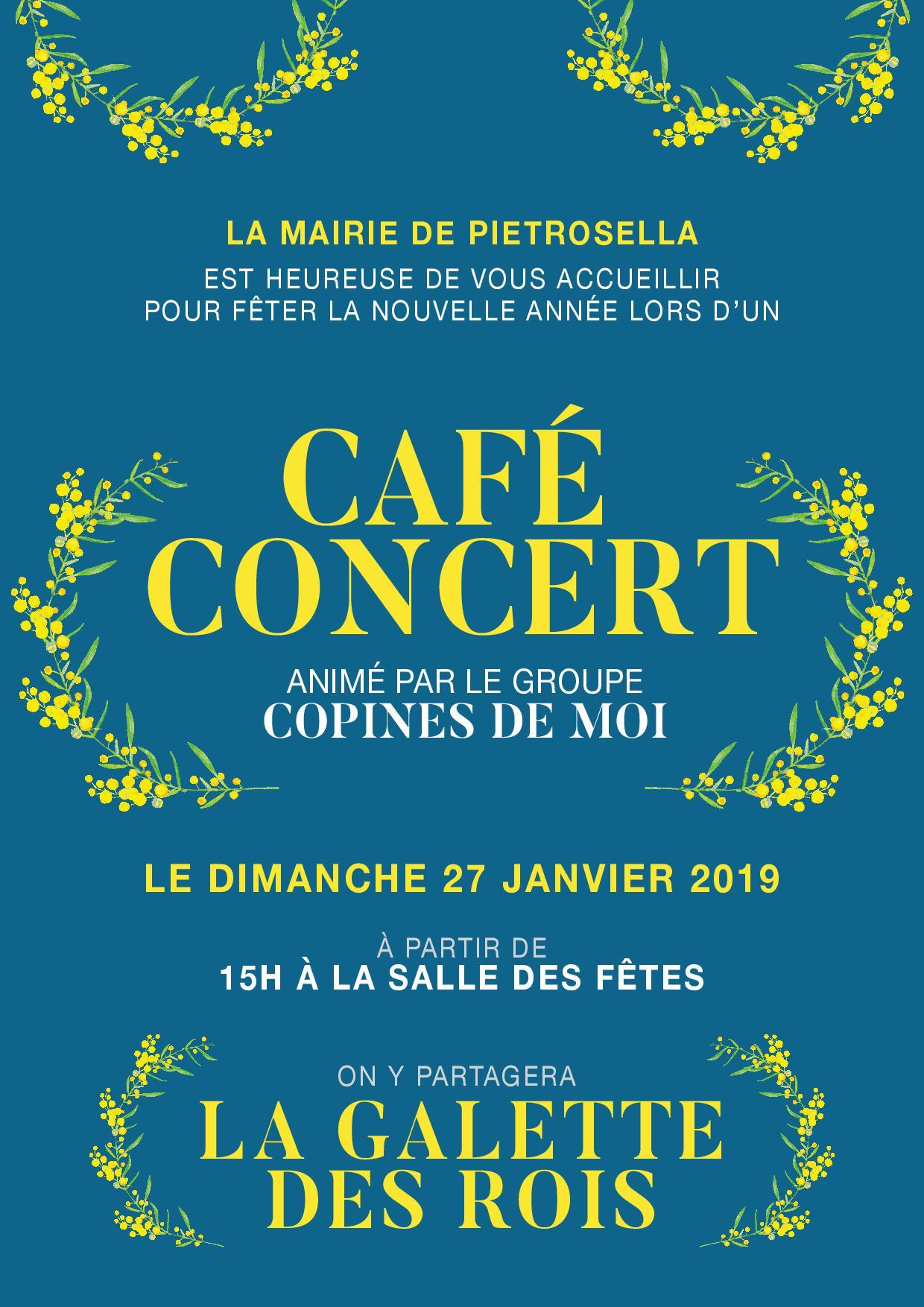 Galette des Rois - Café Concert