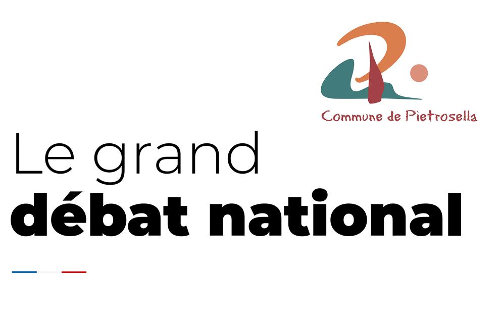 Grand Débat National - Les comptes rendu de chaque débat