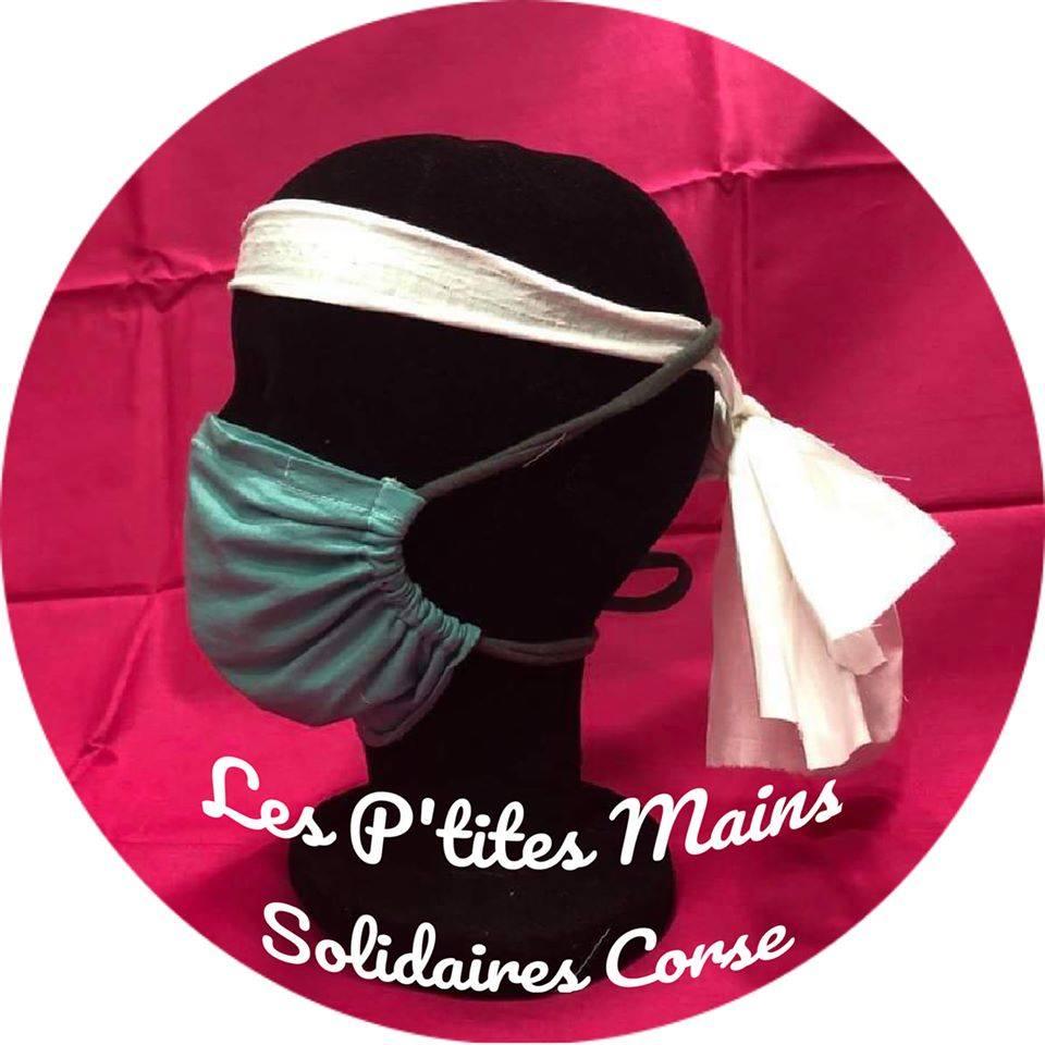 Pietrosella s'associe aux Petites Mains Solidaires Corse pour la création de masques en tissus