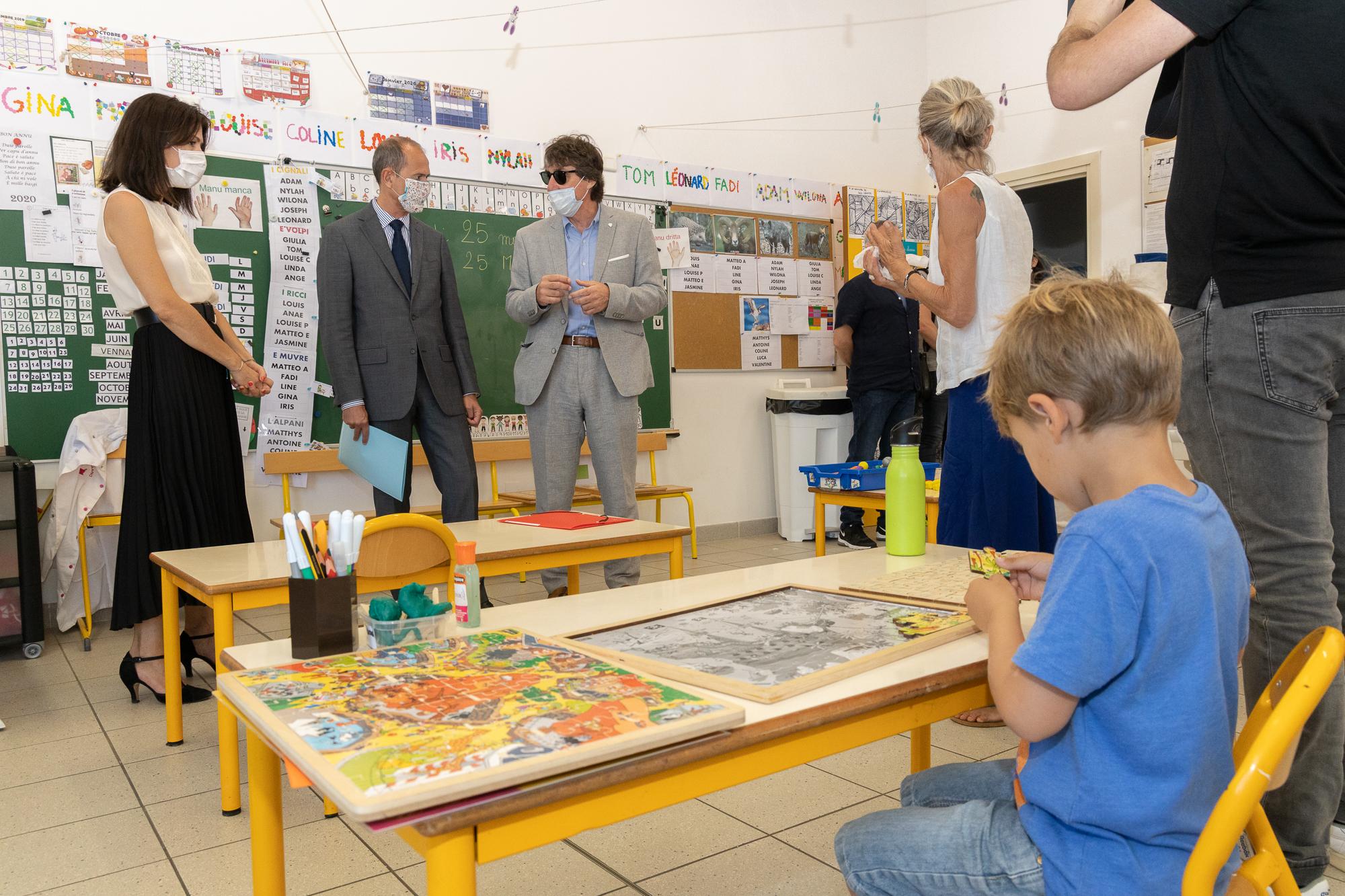 Réouverture de l'école et validation du protocole sanitaire d'ouverture par Mme la rectrice et Mr le préfet de Corse.