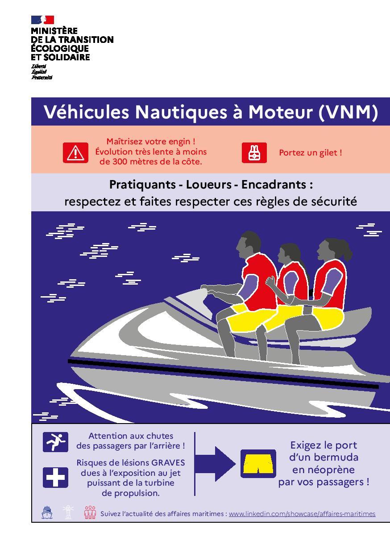 Prudence en mer ! Consultez les règles de sécurité à appliquer