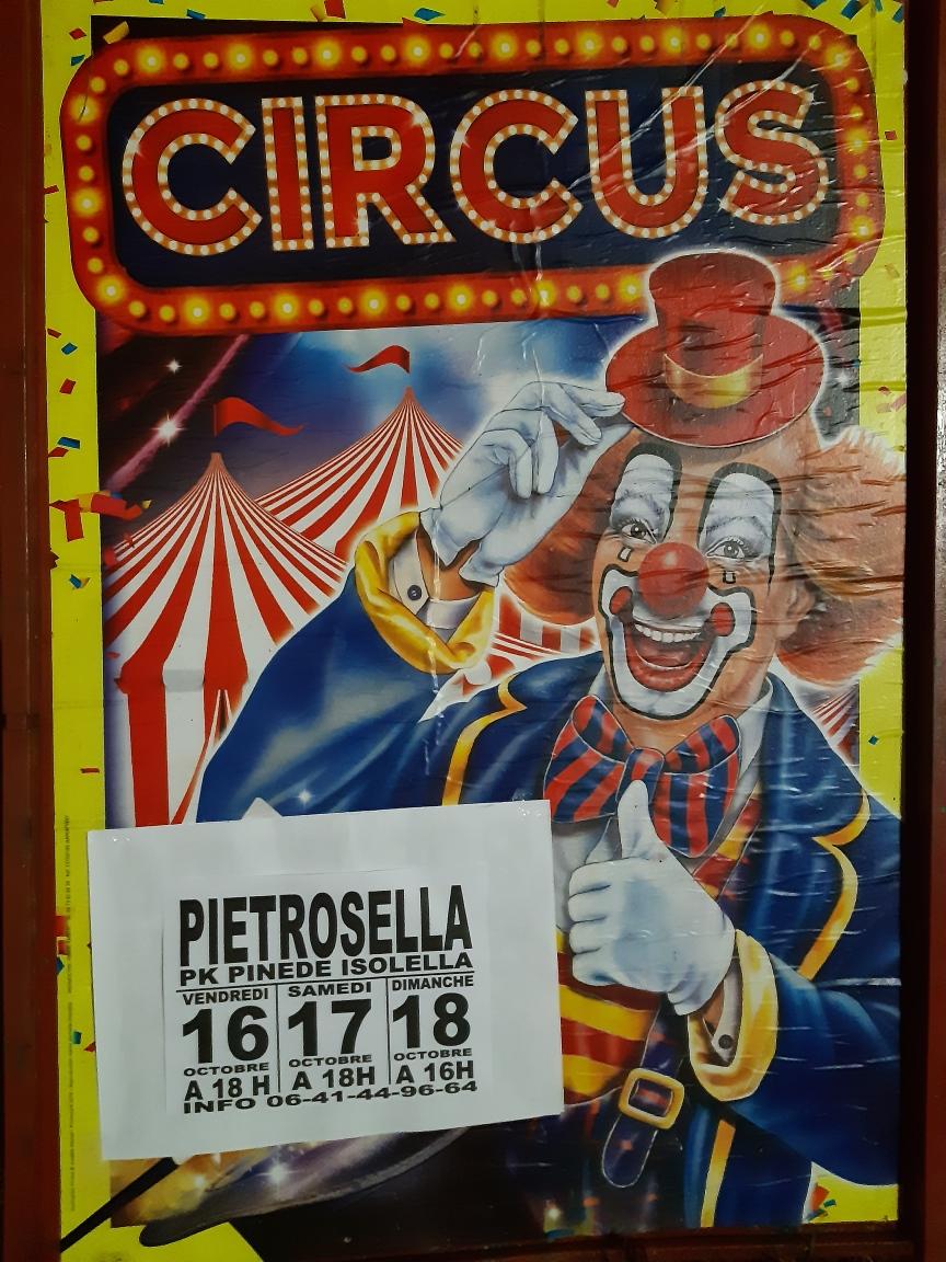 Le Cirque Francesco s'installe à l'Isolella