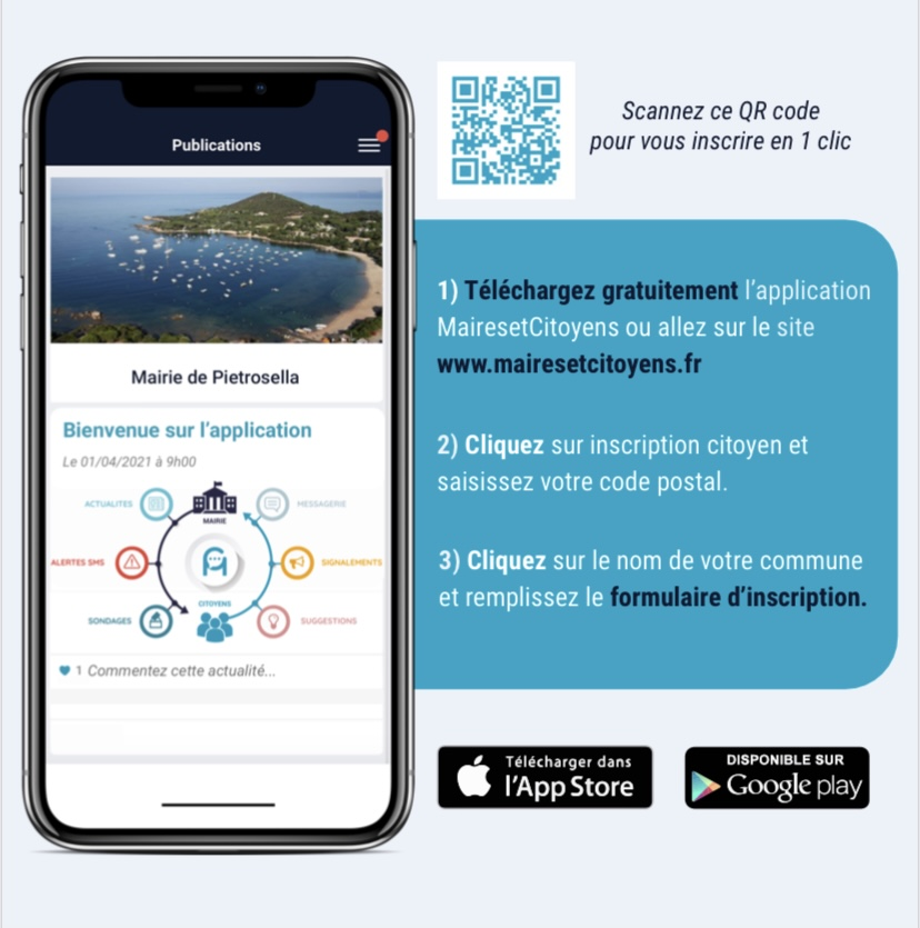 APPLICATION MAIRES & CITOYENS