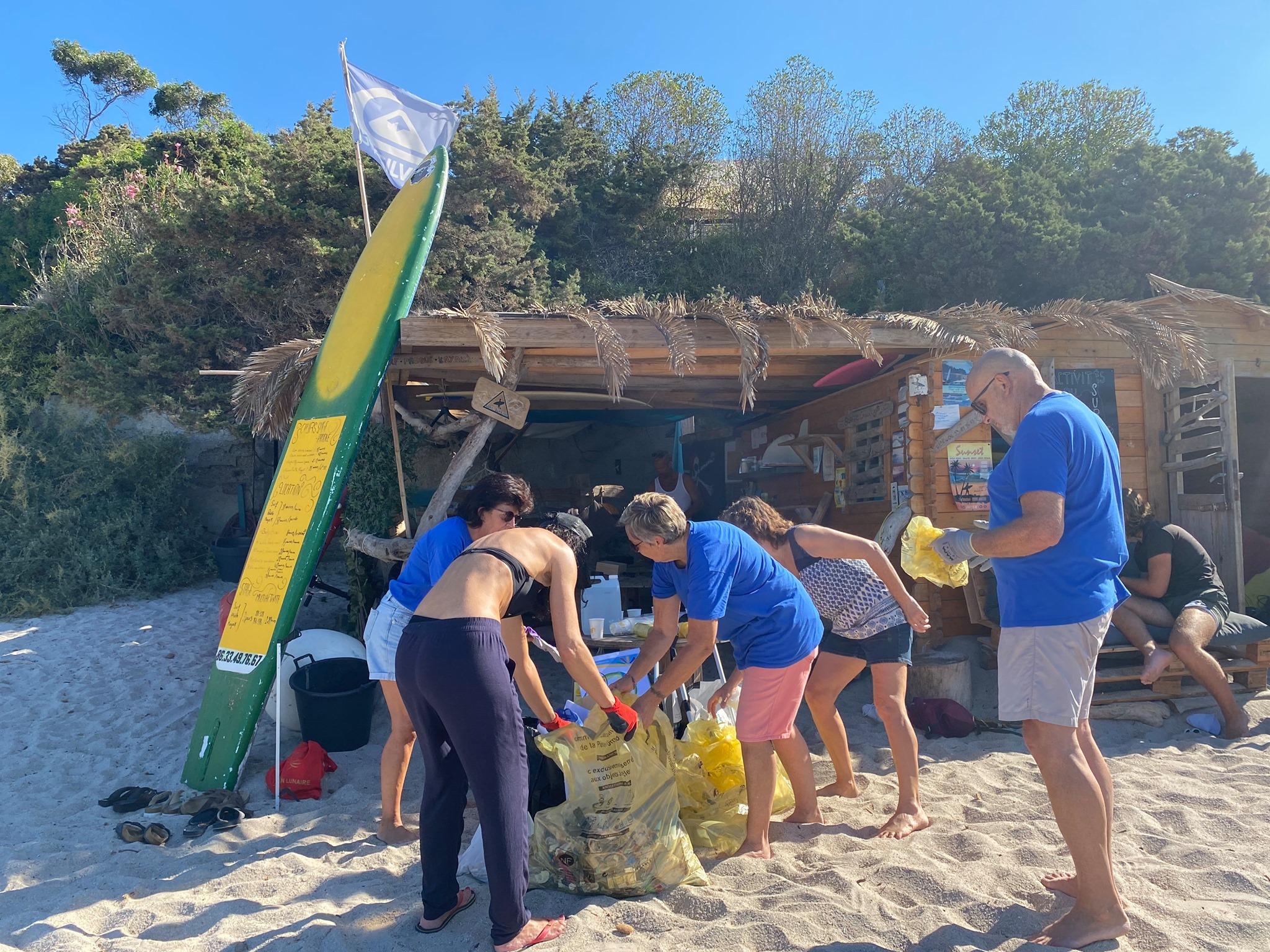 Nettoyage de plage et fonds marins suivi d'un spuntinu - Samedi 9 octobre - Plage de Stagnola
