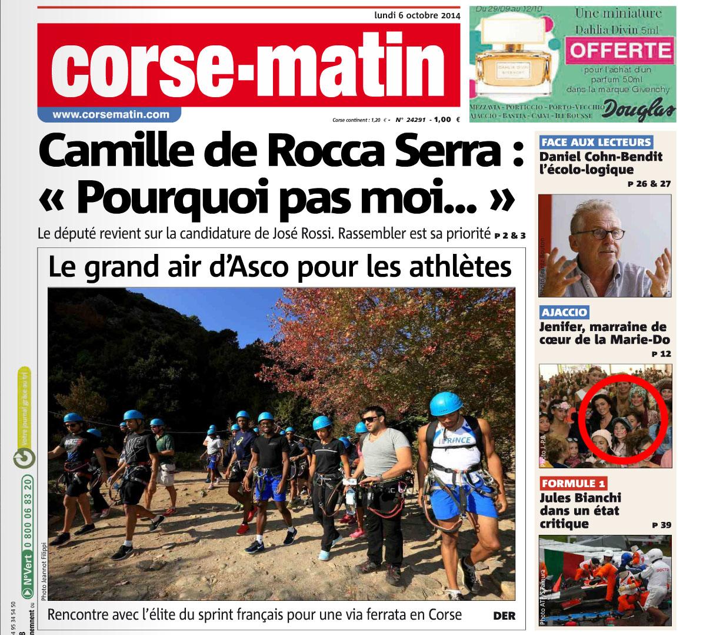 06/10/2014 - Corse Matin