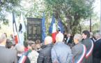 Retour sur les commémorations du centennaire de l'armistice à Pietrosella