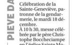 Célébration de la Saite Geneviève à Pitrusedda