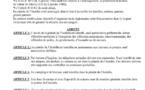 Arrêté prefectoral portant sur la règlementation de la Pinède de l'Isolella
