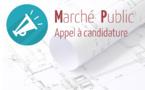 Marché de travaux – Pinède de l'Isolella – Fournitures, maçonneries et installations
