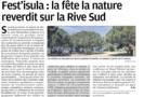 On a parlé de Fest'Isula dans Corse Matin