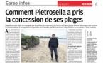 Comment Pietrosella a pris la concession de ses plages