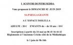 """Paëlla géante organisée par """"I Scontri"""" le dimanche 2 juin"""