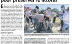 Retour sur la journée de préservation du littoral du lundi 3 juin par Corse Matin