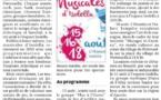 Les Musicales d'Isolella : l'édition 2019
