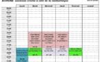 Planning des activités culturelles et artistiques 2019/2020