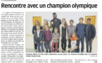 Un champion olympique de Taekwondo à Pietrosella