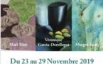 Exposition de trois artistes peintres : Vibrations, émotions, couleurs