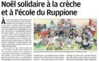 La crèche et l'école du Ruppione unis pour les Restos du Coeur