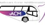 Ligne de bus Verghja-Porticcio-Ajaccio par les Autocars Corse Mediterranée
