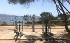 Espace fitness d'extérieur