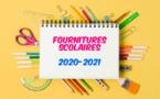Liste des fournitures scolaires par niveau 2020/2021