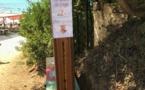 Nouveau ! Des distributeurs de cendriers de plage sur le littoral de Pietrosella
