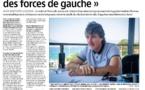 Interview de Jean-Baptiste Luccioni sur une union de gauche en prévision des territoriales - 18/09/20
