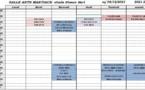 Programme des activités sportives 2020/2021