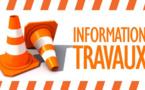 INFORMATION TRAVAUX - CIRCULATION ALTERNEE