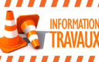 INFORMATION TRAVAUX - CIRCULATION ALTERNEE SUR DIFFERENTS SECTEURS