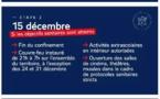Confinement Novembre 2020 - 2ème étape - Nouvelles mesures