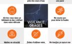 ⚠️ VIGILANCE ORANGE PLUIE-INONDATIONS ET ORAGES ⚠️