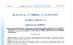 Report du décret portant convocation aux collèges électoraux