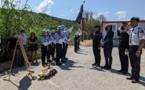 Prise de commandement de la caserne de pompiers de Pietrosella